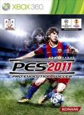 PES 2011: Pro Evolution Soccer Xbox 360 Front Cover