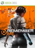 Remember Me Xbox 360 Front Cover