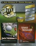 2 in1 Pack: Jack Nicklaus 4 / Tennis Manager Windows Front Cover