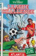 League Challenge Atari 8-bit Front Cover