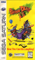 Brain Dead 13 SEGA Saturn Front Cover
