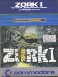 Zork: The Great Underground Empire Commodore 64 Front Cover