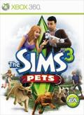 The Sims 3: Pets Xbox 360 Front Cover