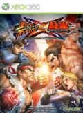 Street Fighter X Tekken Xbox 360 Front Cover