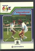 International Tennis Commodore 64 Front Cover