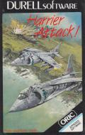 Harrier Attack! Oric Front Cover