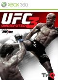 UFC Undisputed 3 Xbox 360 Front Cover