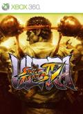 Ultra Street Fighter IV Xbox 360 Front Cover