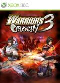 Warriors Orochi 3 Xbox 360 Front Cover