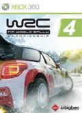 WRC 4: FIA World Rally Championship Xbox 360 Front Cover
