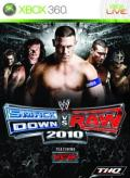 WWE Smackdown vs. Raw 2010 Xbox 360 Front Cover