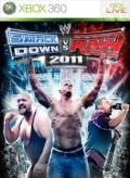 WWE Smackdown vs. Raw 2011 Xbox 360 Front Cover