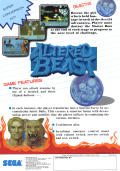 Altered Beast Arcade Front Cover