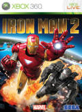 Iron Man 2 Xbox 360 Front Cover