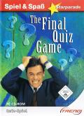 The Final Quiz Game Windows Front Cover