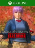 Dead or Alive 5: Last Round - Ayane School Uniform Xbox One Front Cover
