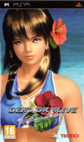 Dead or Alive: Paradise PSP Front Cover