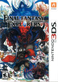 Final Fantasy Explorers (Collector's Edition) Nintendo 3DS Front Cover