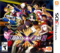 Project X Zone 2 Nintendo 3DS Front Cover