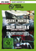 Silent Hunter 3-5 Windows Front Cover