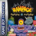 Rampage Puzzle Attack Game Boy Advance Front Cover