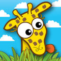 Giraffe's PreSchool Playground iPhone Front Cover