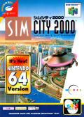 SimCity 2000 Nintendo 64 Front Cover