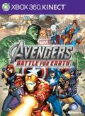The Avengers: Battle for Earth Xbox 360 Front Cover