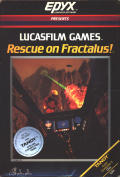 Rescue on Fractalus! TRS-80 CoCo Front Cover