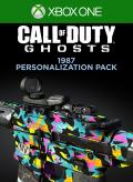 Call of Duty: Ghosts - 1987 Personalization Pack Xbox One Front Cover 1st version