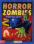 Horror Zombies from the Crypt Atari ST Front Cover