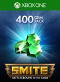 Smite: 400 Gems Xbox One Front Cover 1st version