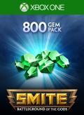 Smite: 800 Gems Xbox One Front Cover 1st version