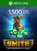 Smite: 1500 Gems Xbox One Front Cover 1st version