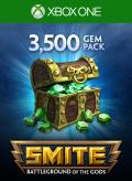 Smite: 3500 Gems Xbox One Front Cover 1st version