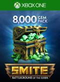 Smite: 8000 Gems Xbox One Front Cover 1st version