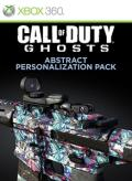 Call of Duty: Ghosts - Abstract Personalization Pack Xbox 360 Front Cover