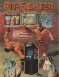 Pit-Fighter Arcade Front Cover Flyer - front