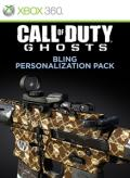 Call of Duty: Ghosts - Bling Personalization Pack Xbox 360 Front Cover