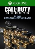 Call of Duty: Ghosts - Bling Personalization Pack Xbox One Front Cover