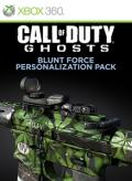 Call of Duty: Ghosts - Blunt Force Personalization Pack Xbox 360 Front Cover