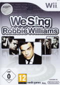We Sing: Robbie Williams Wii Front Cover