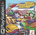 Woody Woodpecker Racing PlayStation Front Cover Also a manual