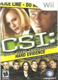 CSI: Crime Scene Investigation - Hard Evidence Wii Front Cover