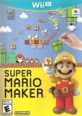 Super Mario Maker Wii U Front Cover