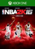 NBA 2K16 Xbox One Front Cover