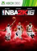 NBA 2K16 Xbox 360 Front Cover