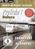 ProTrain 7 Deluxe: Frankfurt - Nürnberg Windows Front Cover