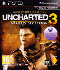 Uncharted 3: Drake's Deception - Game of the Year Edition PlayStation 3 Front Cover
