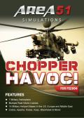Chopper Havoc! Windows Front Cover 'Area 51 Simulations' release.